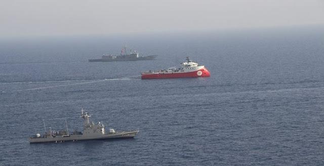 Σκηνικό ελληνοτουρκικής σύγκρουσης στα νερά της Μεσογείου