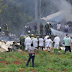 Many feared dead as plane crashes immediately after take-off