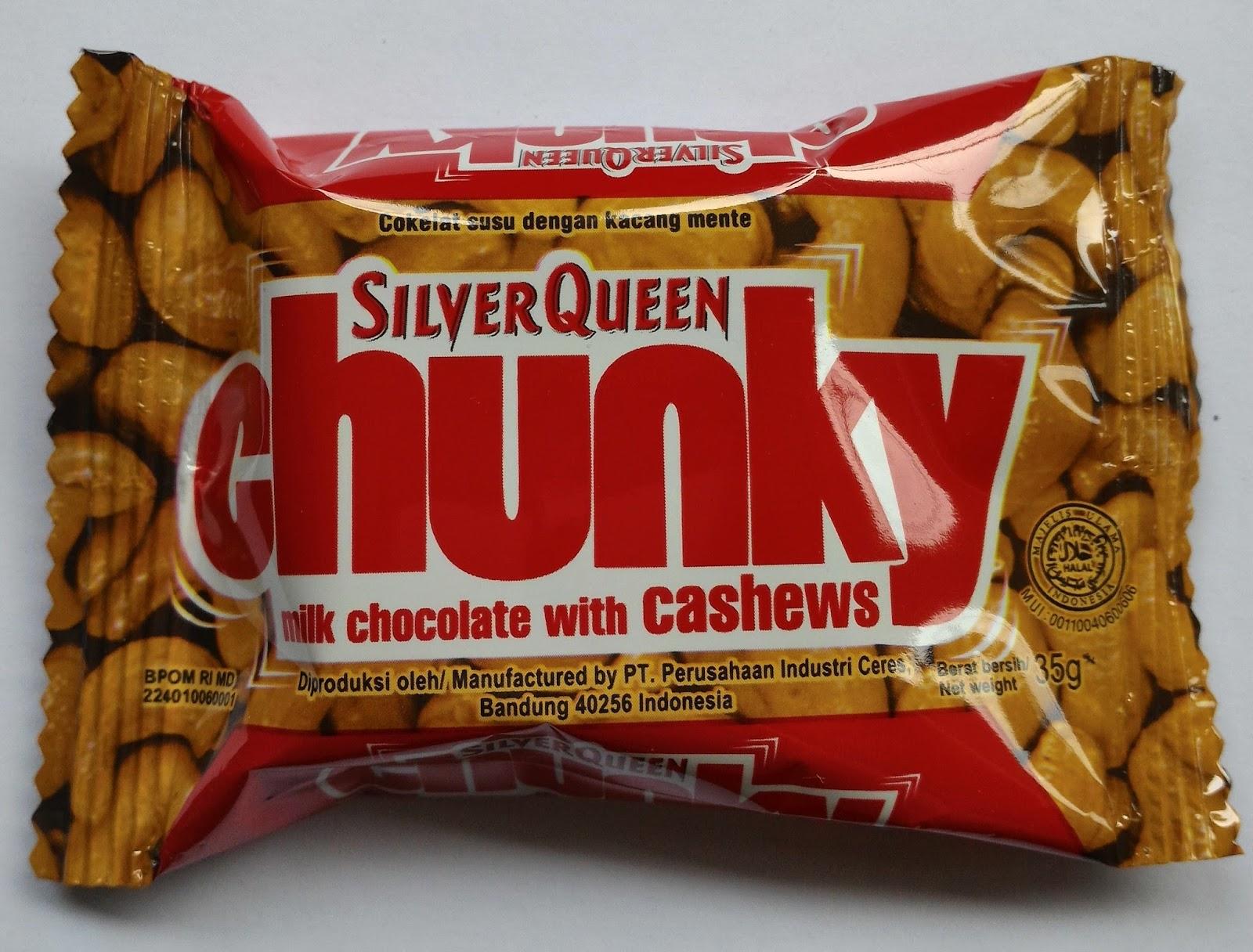 Coklat Delfi Kiloan Catalog Silverqueen Sq Chunky Bar White 100 Gr Cashew 35gr