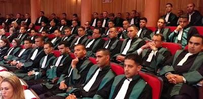 شرح المشاركة في مباراة الملحقين القضائيين الفوج 44
