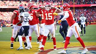 FÚTBOL AMERICANO (NFL Playoffs 2020) - Los Chiefs despiertan a los Titans y volverán a la Super Bowl