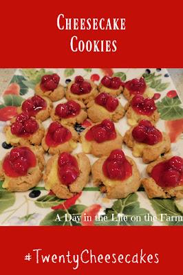 Cheesecake Cookies pin