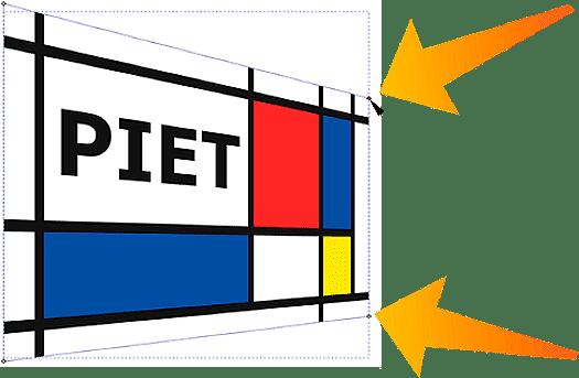 ilustración puesta en perspectiva en Inkscape 1.0