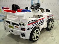 Mobil Mainan Aki DoesToys DT55 811 Police White