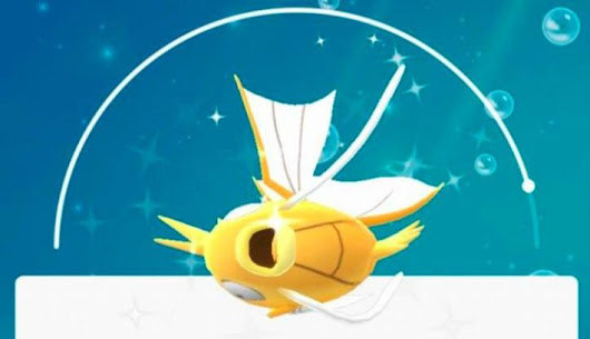 Shiny Magikarp é encontrado em Pokémon GO         |          Pokémon GO-Up