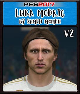 PES 2017 Faces Luka Modric by Sameh Momen