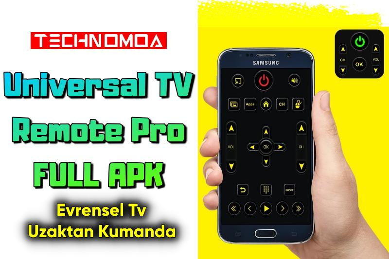 Universal TV Remote Pro APK İndir | Evrensel TV Uzaktan Kumanda Pro APK