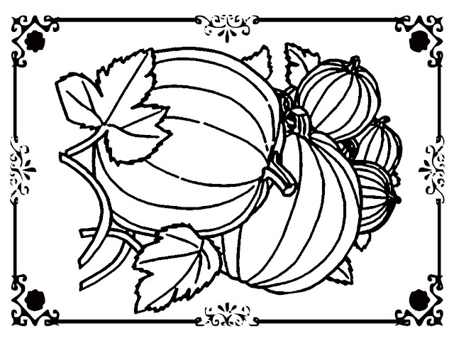 cool pumpkin coloring pages