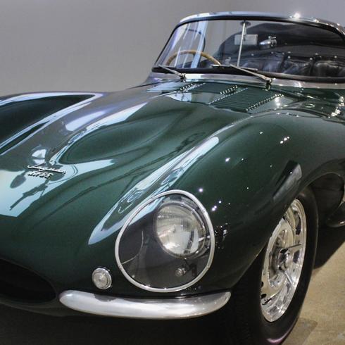 Steve McQueen Jaguar XKSS