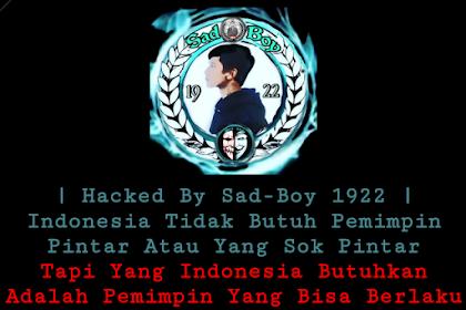 Situs DPRD Sulsel Menjadi Sasaran Peretasan : RIP KPK