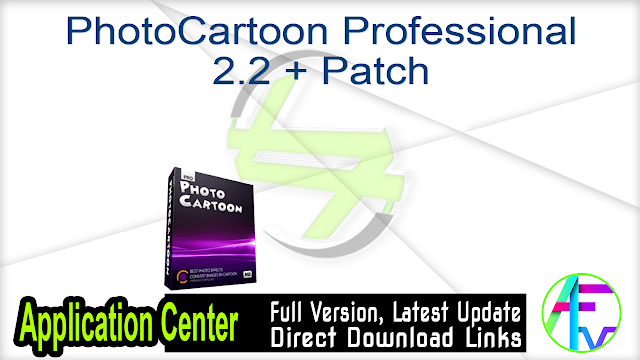 PhotoCartoon Professional 2.2 + Patch