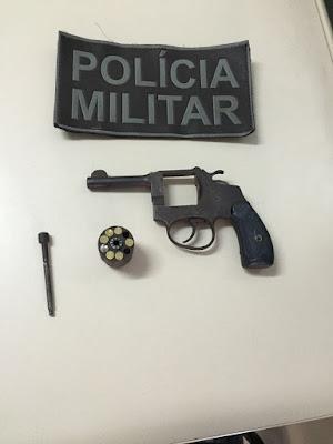 Policia prende elementos que estavam agindo armados no Rio Vermelho nesta segunda-feira
