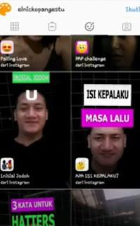Filter Inisial Jodoh Instagram