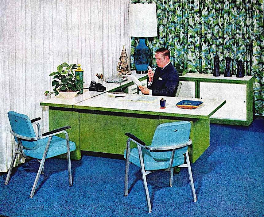 from a 1962 office furniture catalog