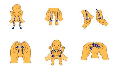 beneficios masajes bebé blog mimuselina