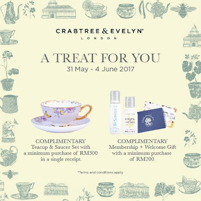 Crabtree & Evelyn London Malaysia