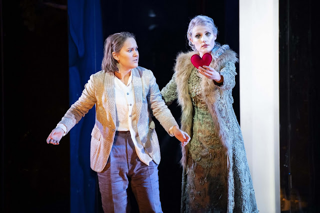 Massenet: Cendrillon - Eléonore Pancrazi (Prince Charming), Caroline Wettergreen (The Fairy ) - Glyndebourne (photo by Richard Hubert Smith)