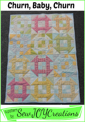 churn baby churn quilt pattern by Sarah Vanderburgh