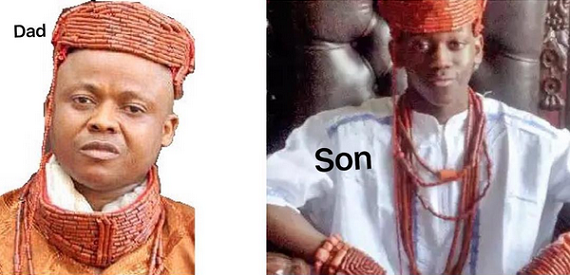 15-Year Old Son Of Murdered Delta Monarch Crowned King