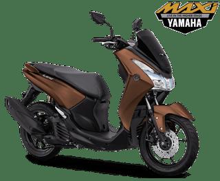 Pilihan Warna Yamaha Lexi S Bronze