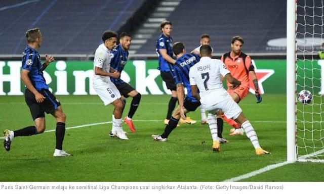 Atalanta vs PSG 1-2 Highlights Liga Champions