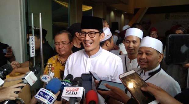 Tanggapi Jokowi, Sandiaga Bahas Pengalaman Prabowo Besarkan Gerindra