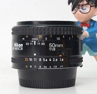 Jual Lensa Nikon 50mm f1.8 Bekas