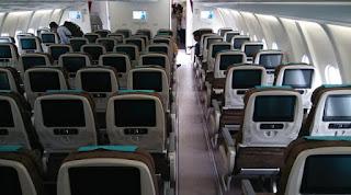 Tips Pilih Tempat duduk di Pesawat