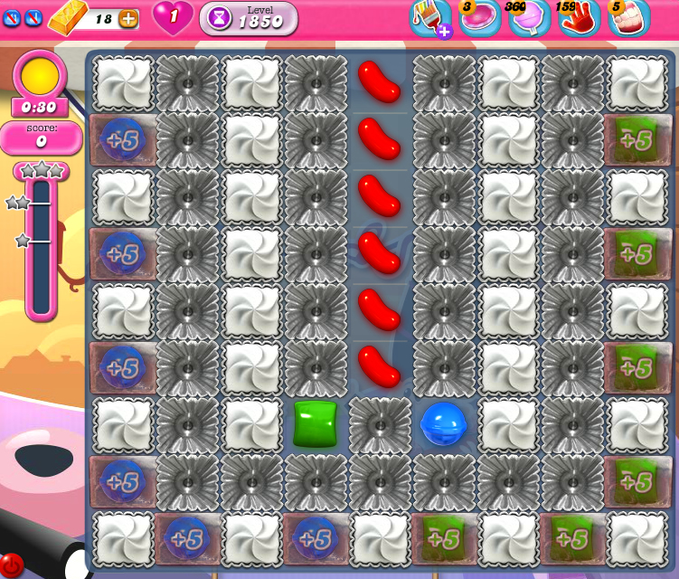 Candy Crush Saga 1850