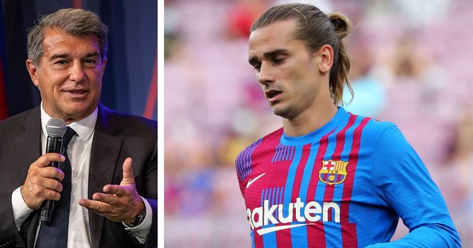 Laporta talks Griezmann exit: He doesn't fit into the Barcelona system