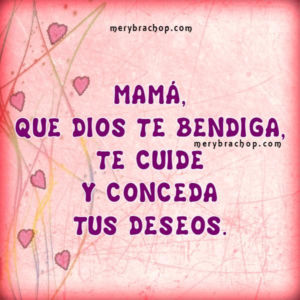 Frases cortas para la madre en su día con te amo por Mery Bracho. Feliz día de las madres,. Felicidades Mamá.