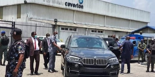 Rivers unseals Carveton Helicopters' premises
