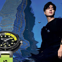 Tahar Rahim y Minho Lee: los nuevos rostros del reloj Tambour Street Diver de Louis Vuitton