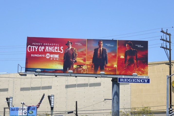 Penny Dreadful City of Angels 2020 Emmy FYC billboard