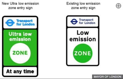 Ultra Low Emission Zone in London