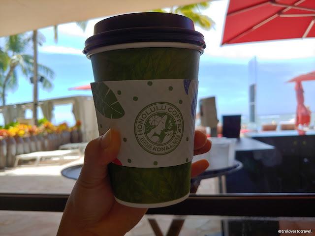 Honolulu Coffee Sheraton Hotel