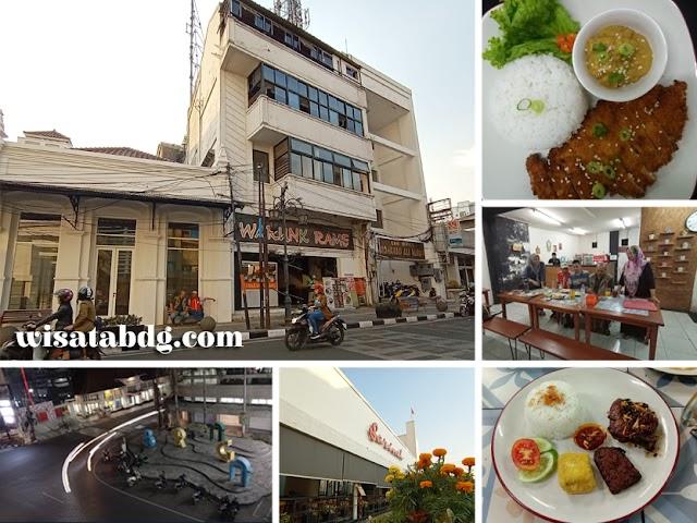 Warunk Rame, Tempat Makan Sambil Santai di Jalan Braga