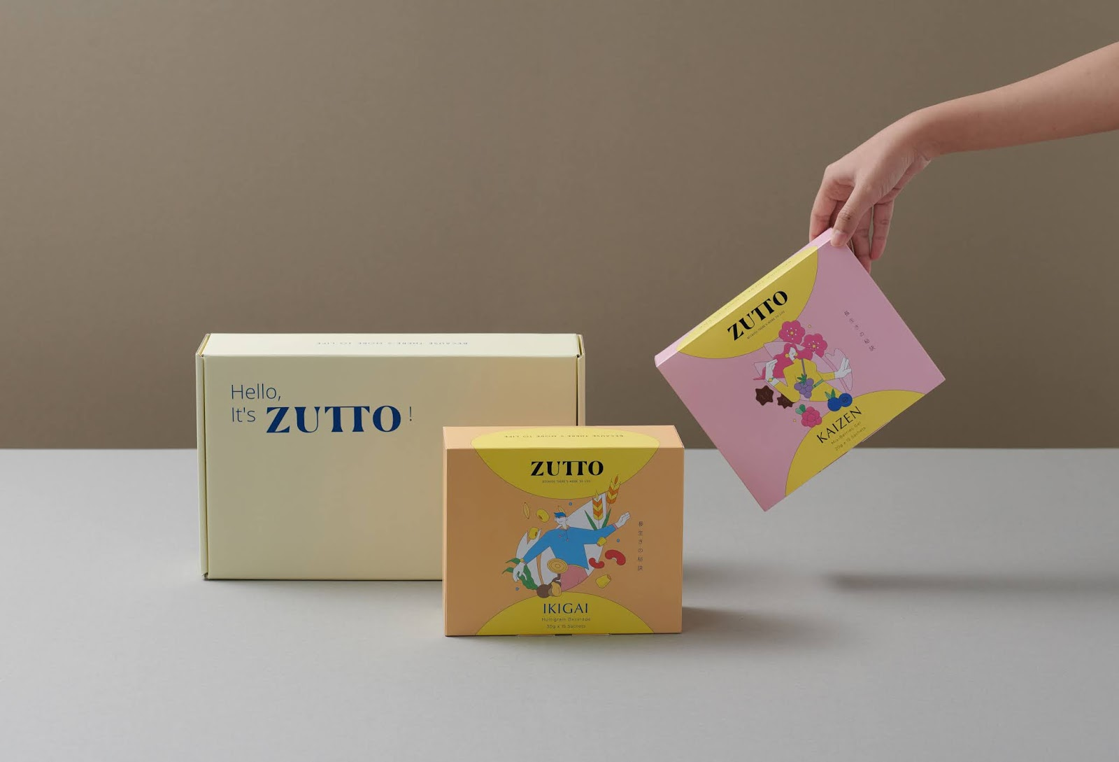 Example of custom printed boxes