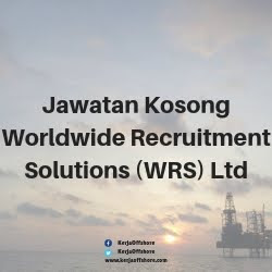 Jawatan Kerja Kosong Worldwide Recruitment Solutions (WRS) Ltd