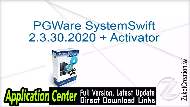 PGWare SystemSwift 2.3.30.2020 + Activator