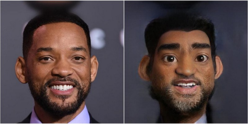 Will Smith Transform into Disney characters using neural networks
