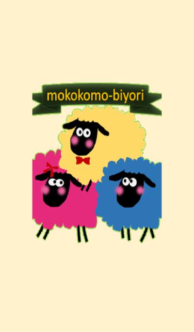 mokokomo-biyori sheep theme