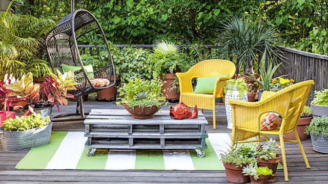 How to design a villa small garden to be more beautiful and maximize the use of space