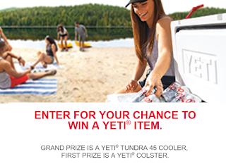 Coors Light Yeti Summer Giveaway - 99 Winners Win Yeti