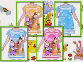 Baju Bayi Marsha and Bear