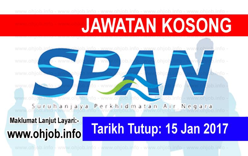 Jawatan Kerja Kosong Suruhanjaya Perkhidmatan Air Negara (SPAN) logo www.ohjob.info januari 2017