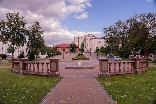 Vitebsk Park Square Fountain