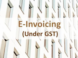 E-Invoicing under GST (Applicability from 1st April, 2021)