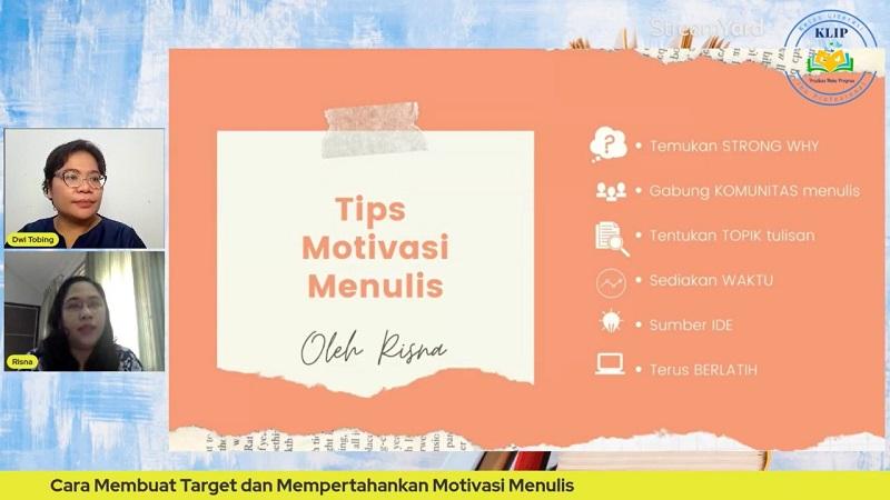 Tips Motivasi Menulis