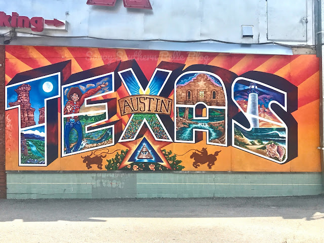 Savvy southern belle 17 awesome austin murals for Austin mural wall